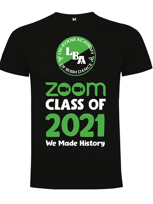 Zoom Class of 2021 T-Shirt - LEE BYRNE ACADEMY
