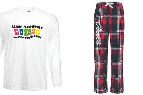 Personalised Pyjamas - Stage Academy Newbridge