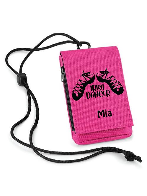 Irish Dancer Phone Carry Pouch