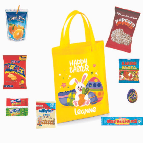 Personalised Easter Treat Bag (with treats)