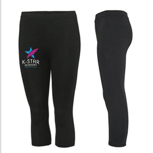 3/4 length sports leggings -  K STAR ACADEMY