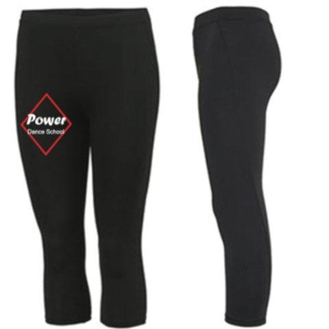 Sports Leggings 3/4 length  - Power Dance