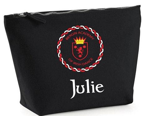 Bergin Academy Makeup Bag Personalised