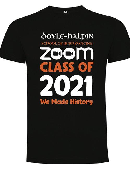Zoom Class of 2021 T-Shirt - Doyle Halpin