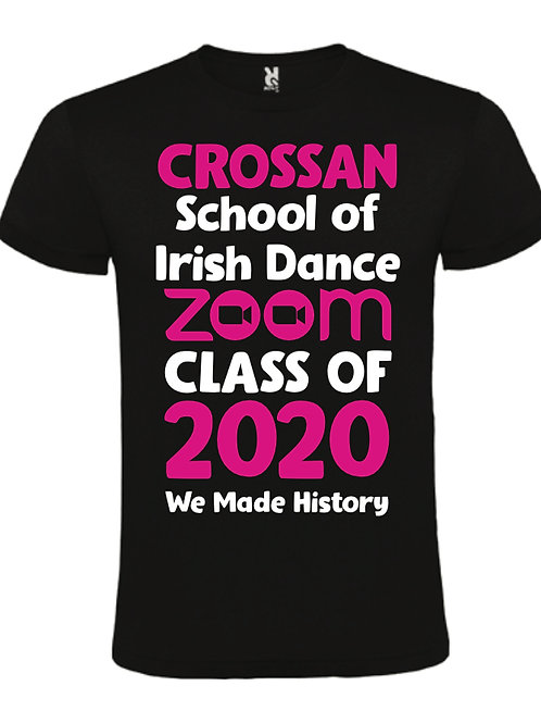 Zoom class of 2021 tshirt - any school