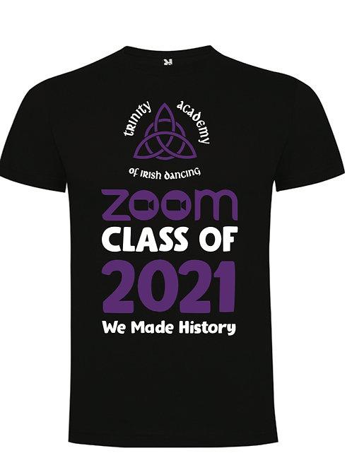 TRINITY ACADEMY Zoom class of 2021 t-shirt