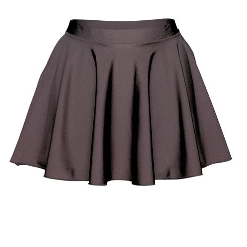 Irish Dance Black in between Skirt - lycra