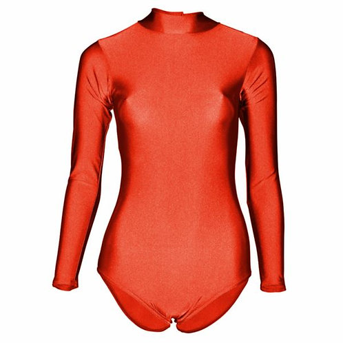 Freestyle Competition Leotard -high neck
