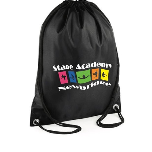 personalised Gym Sac - Stage Academy Newbridge
