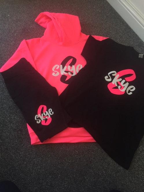 3 Piece personalised set - Hoodie, Tee &  Bicycle Shorts