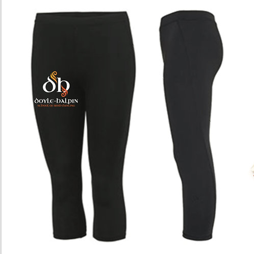 3/4 length sports leggings - Doyle Halpin