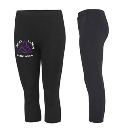 3/4 length sports leggings - TRINITY ACADEMY