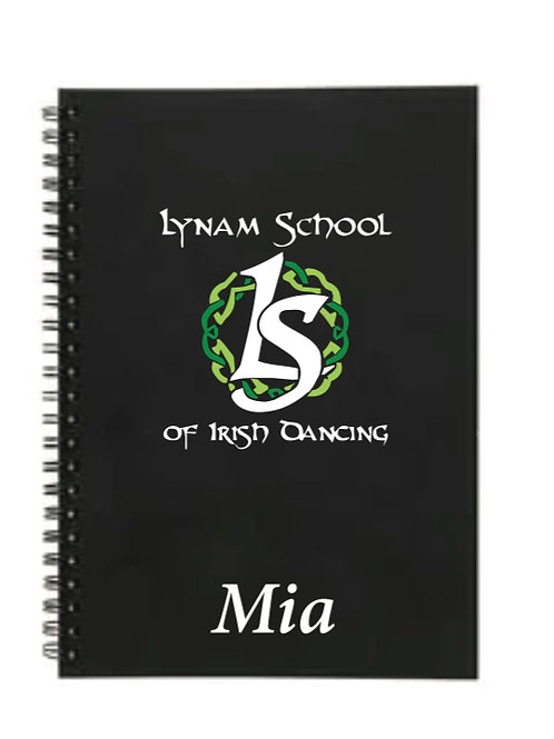 Personalised Notebook -  Lynam School