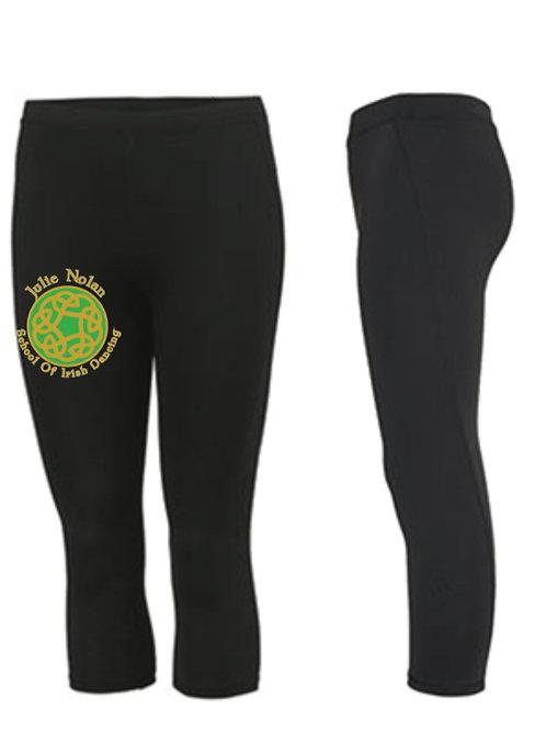 3/4 length sports leggings -  JULIE NOLAN IRISH DANCING