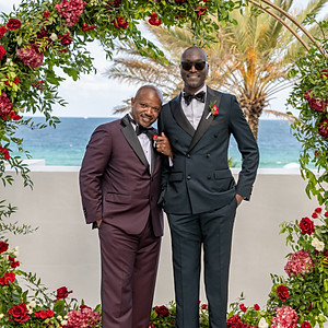 Michael & Mark's South Beach Wedding