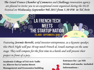 La French tech meets the start up nation