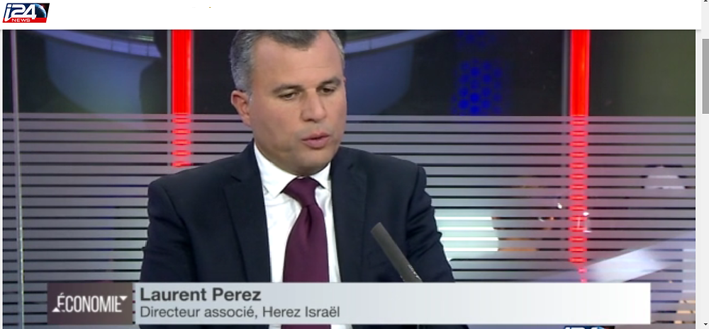 Laurent Perez sur i24 News