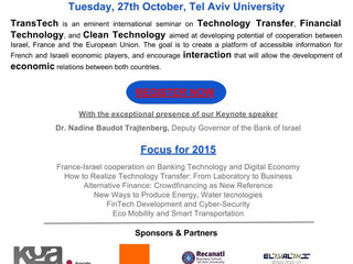 TransTech5 - October 27th - Tel Aviv