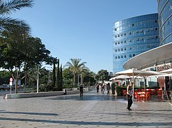 Le centre de Raanana