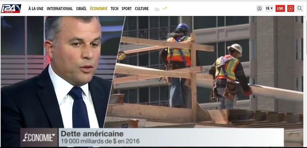 Laurent Perez sur i24 News le 9 Novembre 2016