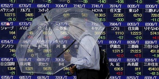 baisse des actions au Japon