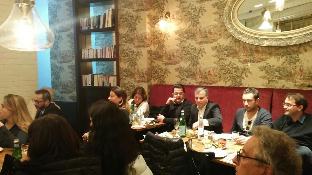 Atelier du Réseau Experts Alya au restaurant le Rendez-Vous