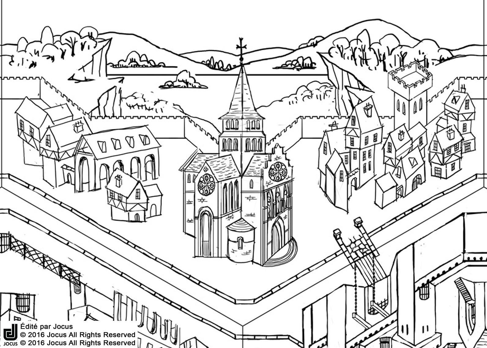 Eglise Croquis