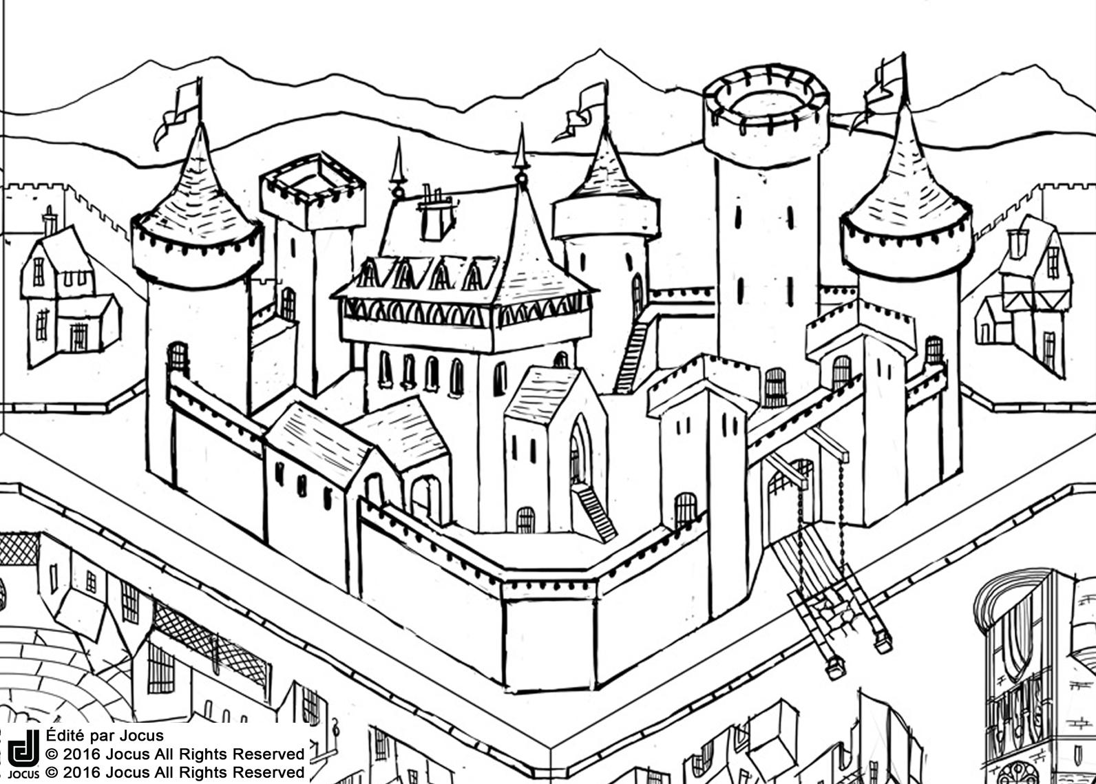 Chateau Croquis