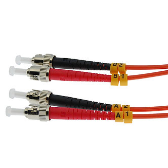 7m ST-ST Duplex Multimode 62.5/125 Fiber Cable