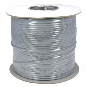 1000Ft UL 4 Conductor Modular Cable Reel 26AWG