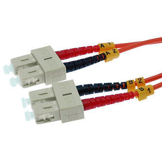 10m SC-SC Duplex Multimode 62.5/125 Fiber Cable