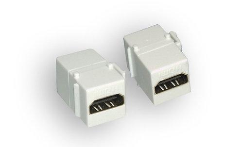HDMI Female / Female Keystone Jack (Inline Coupler)