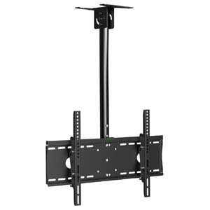 "Flat TV Ceiling Mount Adjustable Pole Angle 32""~55"" Tilt"