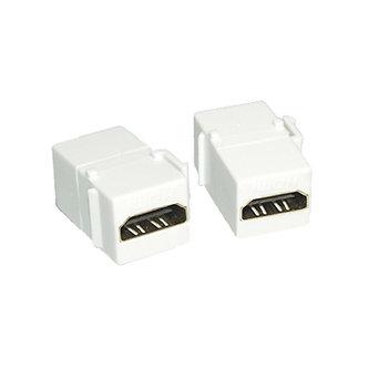 HDMI Female/HDMI Female HDMI Inline Coupler White