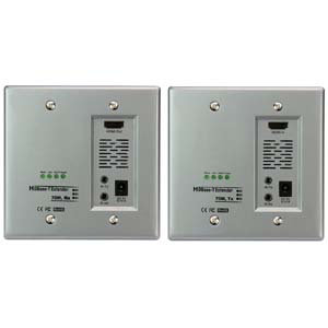 HDBase-T 230Ft (70m) Cable HDMI Wallplate Extender