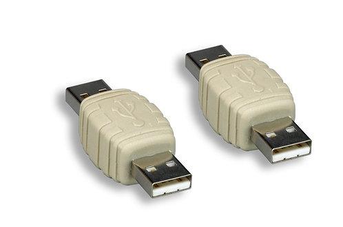 USB A M/M Gender Changer