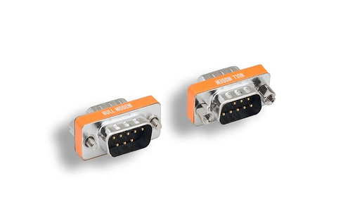 DB9 M/M Null Modem Mini Adapter