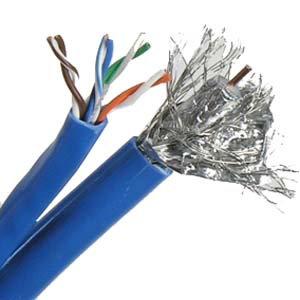 500Ft Cat.5E / RG6 Quad Combo Bulk Cable