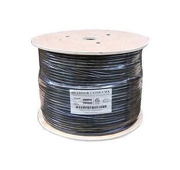 1000Ft Cat.6 UTP Direct Burial Outdoor Cable Gel Type Black