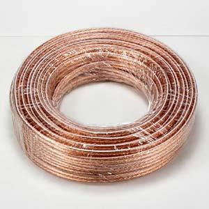 100Ft 14AWG/2 Polarized Speaker Wire Coil