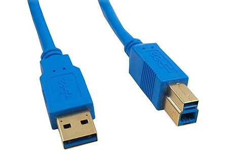 6Ft USB 3.0 Super Speed 5Gbps Type A Male to B Male Cable