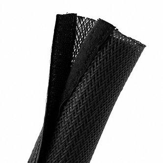 Velcro Cable Sock Black 85mm x 2m