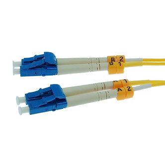 2m LC-LC Duplex Singlemode 9/125 Fiber Optic