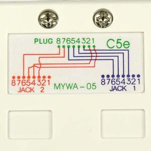 Outstanding 10 100 Baset Rj45 1P 2J Type 5 Wiring Wiring 101 Hisonstrewellnesstrialsorg