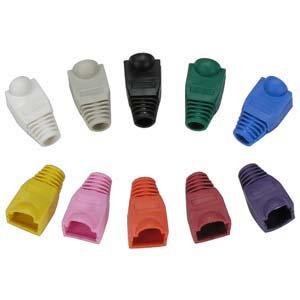 Color Boots for RJ45 Plug 20pk