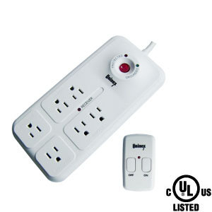6 Outlet Energy Controlled Surge Protector