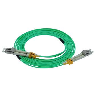50m LC-LC 10Gb 50/125 OM3 M/M Duplex Fiber Cable