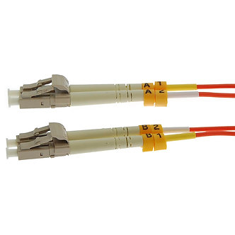 2m LC-LC Duplex Multimode 50/125 Fiber Optic