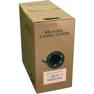 1000Ft CMR CCS Dual Shield RG6/U Coax Cable