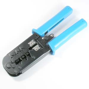 8P8C/6P6C/6P4C/4P4C/4P2C Crimp Tool with Ratchet